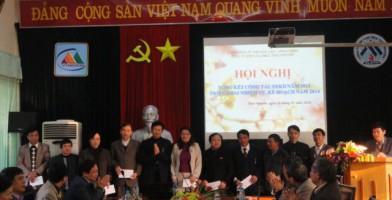 Hội nghị tổng két công tác XD Đảng năm 2013, triển khai nhiệm vụ năm 2014