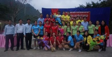 Công ty KLM Bắc Kạn tổ chức giải bóng chuyền chào mừng ngày QTPN 8-3