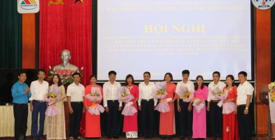 Công đoàn Công ty Kim loại màu Thái Nguyên tổ chức Hội nghị sơ kết phong trào CNVLĐ và hoạt động Công đoàn 6 tháng đầu năm 2019