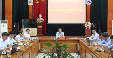 Chương trình làm việc của Tổng Giám đốc Tổng Công ty Khoáng sản-TKV tại Công ty cổ phần Kim loại màu Thái Nguyên-Vimico