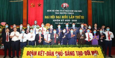 Đại hội đại biểu Đảng bộ Công ty Cổ phần Kim loại màu Thái Nguyên – Vimico lần thứ XI, nhiệm kỳ 2020-2025