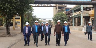 Lãnh đạo Tập đoàn CN Than – Khoáng sản VN đến thăm và làm việc tại Công ty!